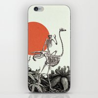death iPhone & iPod Skins featuring Death by Dorian Danielsen