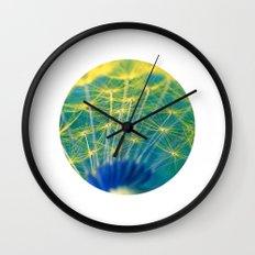 dandelion abstract Wall Clock