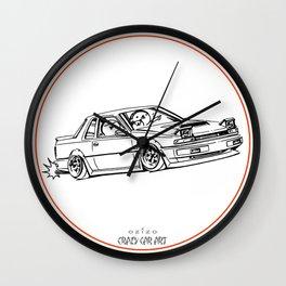 Crazy Car Art 0218 Wall Clock