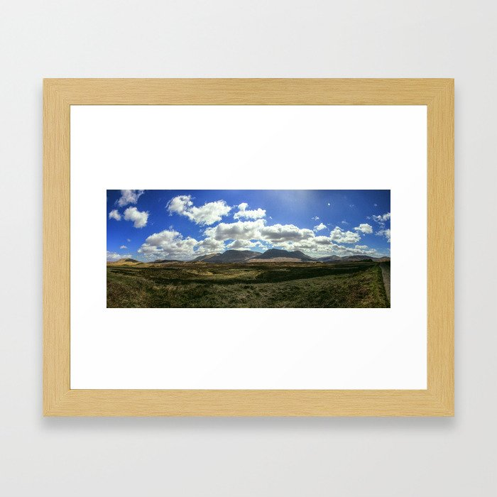 The Highlands Framed Art Print