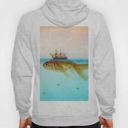Goldfish Tall Ship Hoody