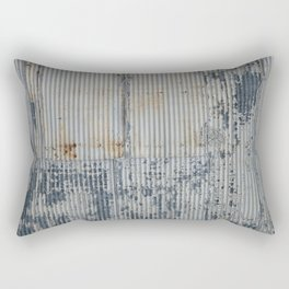 Warehouse District -- Rustic Industrial Farm Chic Abstract Rectangular Pillow
