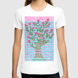Notebook Flower Tree T-shirt