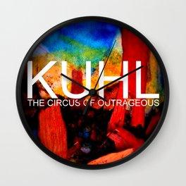 Kuhl's Big Top Wall Clock