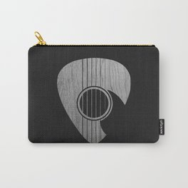 Strum... (White on Black) Carry-All Pouch
