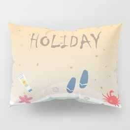 Summer Holiday Pillow Sham