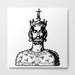 Charlemagne Metal Print