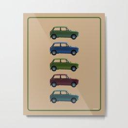 Five Honda's Metal Print
