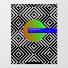 Impossible Symmetry - Circle Canvas Print