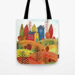 Colorful forest III Tote Bag
