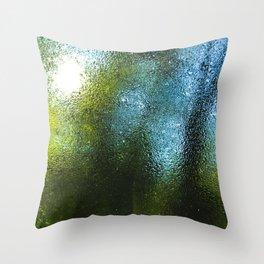 Outside World Throw Pillow