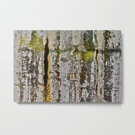 Moss Abstracted Metal Print