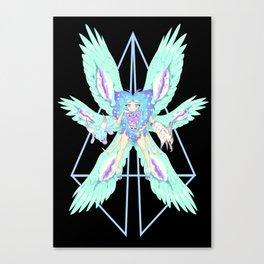 Cherubim Alt - Black Canvas Print
