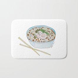 U is for Udon Soup Bath Mat