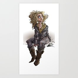 Coda Art Print