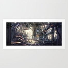 Industrial District Art Print