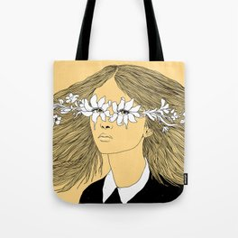 Flowers in My Eyes (Life in a Glimpse) Tote Bag