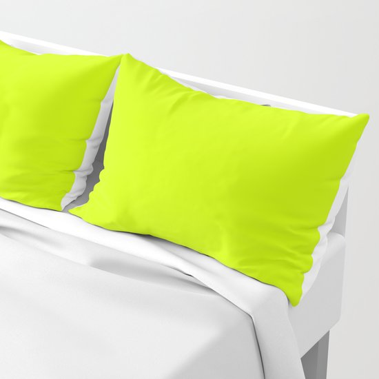Bright green lime neon color by palitraart