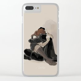 'Come Home' Clear iPhone Case