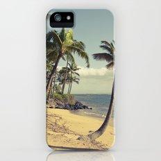 Maui Lu Beach Kihei Maui Hawaii iPhone (5, 5s) Slim Case