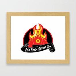 ODS Barn Burner Framed Art Print