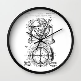 Nautical Compass Wall Clock