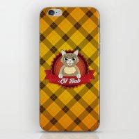 lil bub iPhone & iPod Skins featuring Lil Bub by memetronic