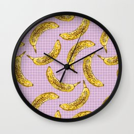Go Bananas Wall Clock
