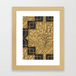 Glamour & Bloom Framed Art Print