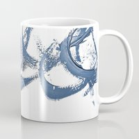 calligraphy Mugs featuring Calligraphy by Margheritta