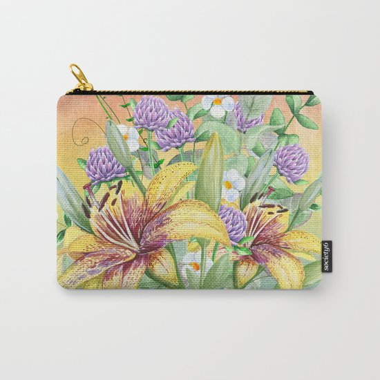 Flowers bouquet #17 Carry-All Pouch