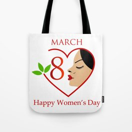 Happy womens day- she persisted gifts Tote Bag