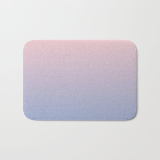Rose Diamond / Quietude Gradient Colors Bath Mat