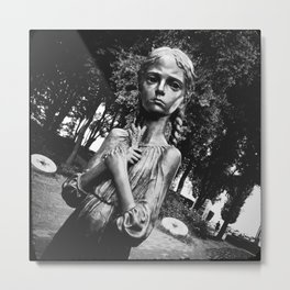 «Bitter memory of the childhood»  [ver.1] Metal Print