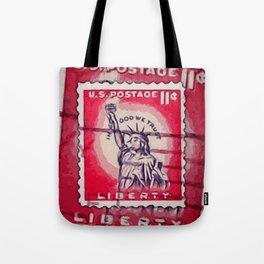 Stamp of Liberty Tote Bag