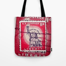 Stamp of Liberty Tote Bag