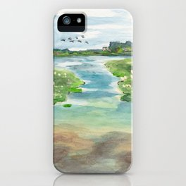 Green Lake in June iPhone Case
