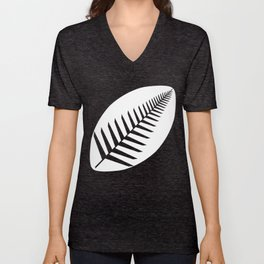 NZ Rugby Unisex V-Neck