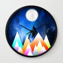 JOY NIGHT Wall Clock