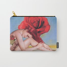 Dali Rose Carry-All Pouch