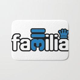 Familia - Blue Bath Mat