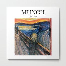Munch - The Scream Metal Print