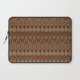Mudcloth Style 1 in Brown Laptop Sleeve