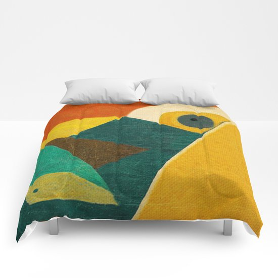 Crazy Seagull Fisher Comforters