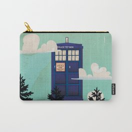 I want to Believe retro telephone box Carry-All Pouch