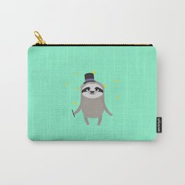Magician Sloth with wand T-Shirt for all Ages Carry-All Pouch