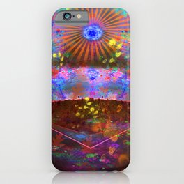 A Glorious Storm Up Ahead iPhone Case