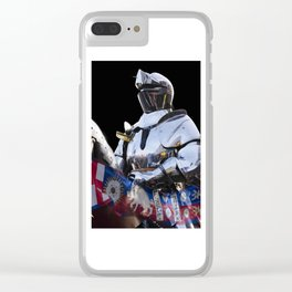 Knight and King Richards Standard Clear iPhone Case