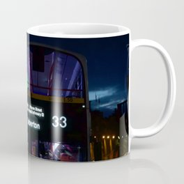 Bus along Princes Street Edinburgh Coffee Mug