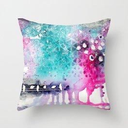 Dream Time Throw Pillow